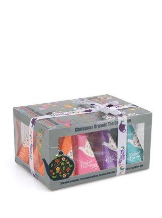 Darčeková krabička čajov English Tea Shop Vianočné ozdoby