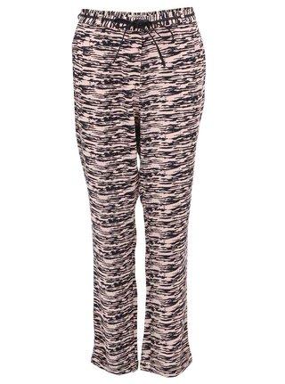 Pantaloni de dama cu dungi roz cu negru Scotch & Soda