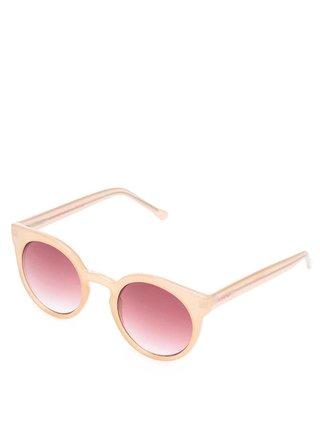 Ružové dámske slnečné okuliare Komono Lulu