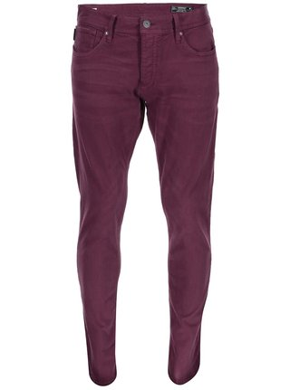Pantaloni slim fit bordo Jack & Jones Glenn