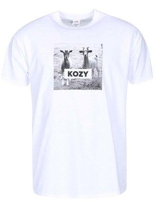 Bílé pánské tričko ZOOT Originál Kozy