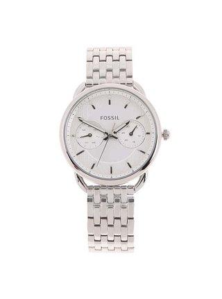 Dámské hodinky ve stříbrné barvě Fossil Tailor