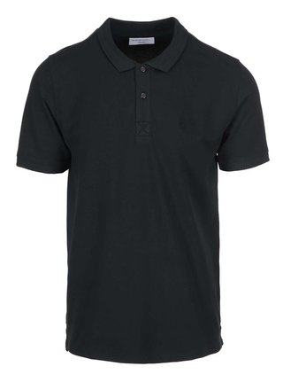 Tricou polo negru - Selected Homme Haro