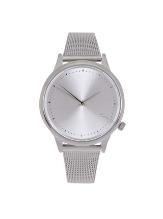 Dámske hodinky v striebornej farbe s kovovým remienkom Komono Estelle Royale