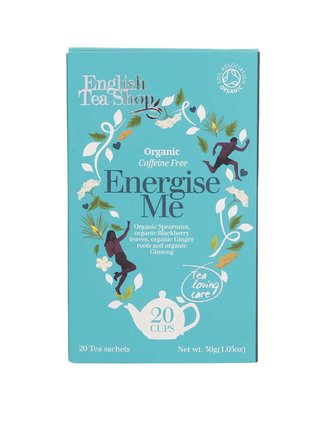 Čaj English Tea Shop s povzbuzujícími účinky