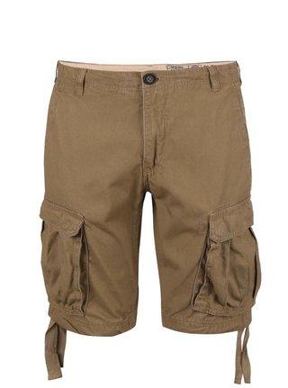 Pantaloni scurti Blend maro cu buzunare