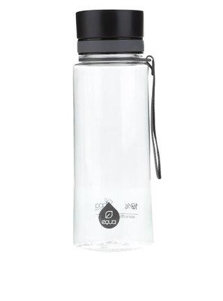 Černá plastová láhev EQUA (600 ml)