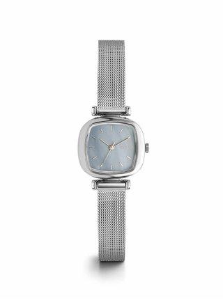 Dámske hodinky v striebornej farbe Komono Moneypenny Royale