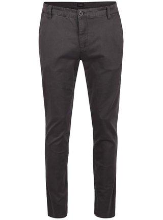 Sivé nohavice Šedé kalhoty !Solid Joe Stretch