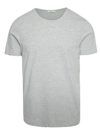 Tricou basic gri deschis Jack & Jones Hugo