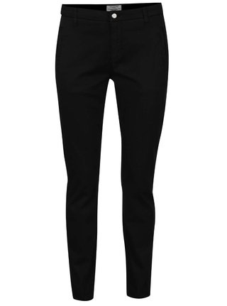 Pantaloni chino negri Selected Femme Ingrid
