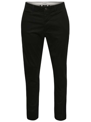 Pantaloni chino negri Jack & Jones Marco