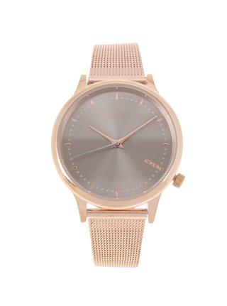 Dámské hodinky v růžovozlaté barvě Komono Estelle Royale