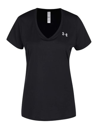 Čierne dámske funkčné tričko Under Armour Solid