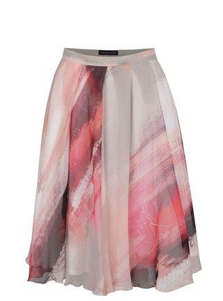 Červeno-šedá sukně Pietro Filipi