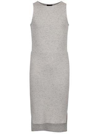 Světle šedé holčičí šaty LIMITED by name it Rabine