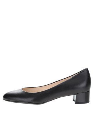 Pantofi negri din piele Högl cu toc