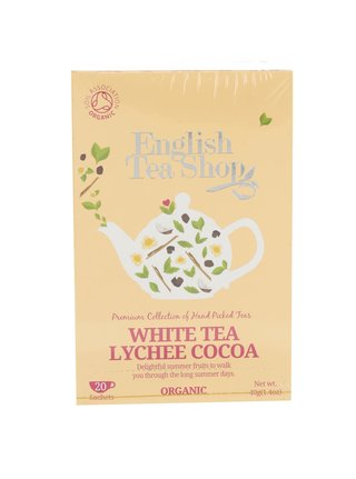 Bílý čaj English Tea Shop Lychee Bio