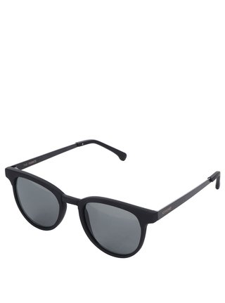 Čierne unisex slnečné okuliare Komono Francis