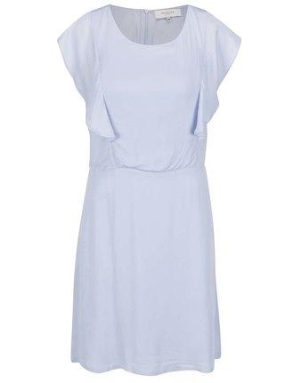 Svetlomodré šaty s volánmi Selected Femme Tora
