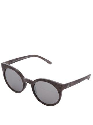 Šedé vzorované dámské sluneční brýle CHPO Padang