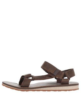 Sandale maro din piele Teva pentru barbati