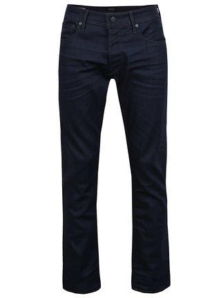 Tmavě modré regular fit džíny Jack & Jones Clark Original