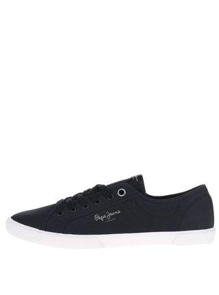 Pantofi sport negri Pepe Jeans Aberman