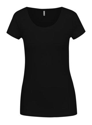 Čierne basic tričko ONLY Live