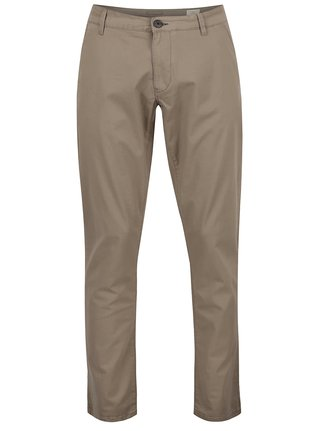 Béžové chino nohavice Selected Homme Three Paris