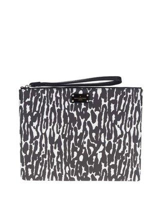 Geanta plic cu animal print negru&alb Paul's Boutique Stephanie