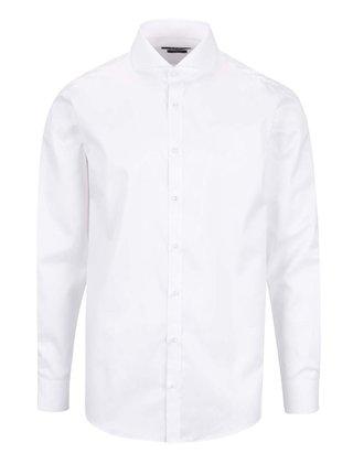 Bílá pánská formální slim fit košile STEVULA