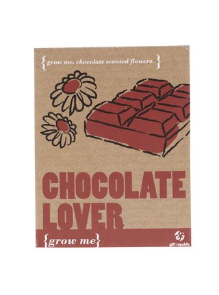 Set crestere Gift Republic Grow it Chocolate