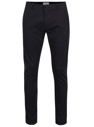 Tmavě modré chino kalhoty Only & Sons Tarp