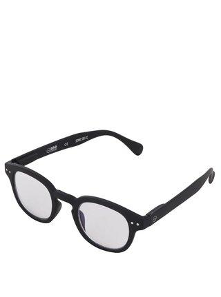 Černé unisex ochranné brýle k PC IZIPIZI #C