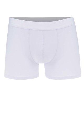 Bílé boxerky Selected Homme Kris
