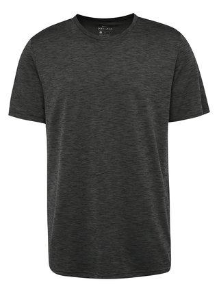 Tmavosivé pánske funkčné tričko Nike Breathe