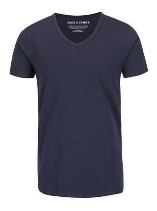 Tricou bleumarin Jack & Jones Basic