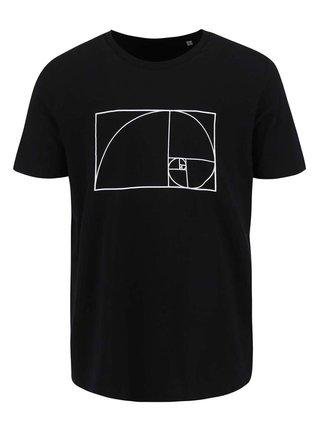 Černé pánské tričko ZOOT Originál Fibonacci
