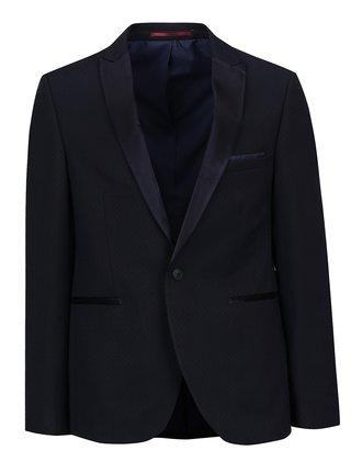 Sacou skinny fit de costum bleumarin Burton Menswear London