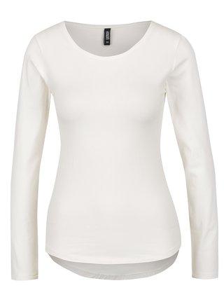 Krémové tričko s dlouhým rukávem Haily´s Tina