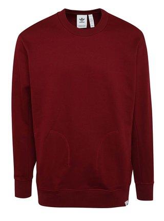 Bluza burgundi adidas Originals X By