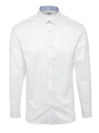 Biela formálna slim fit košeľa Selected Homme One New