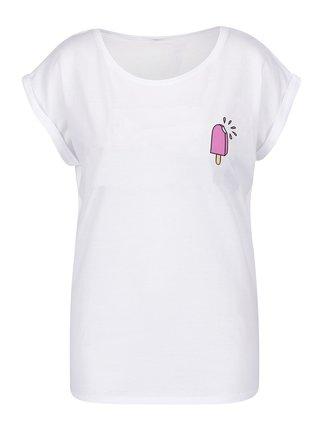 Biele dámske tričko ZOOT Originál Ice Lolly