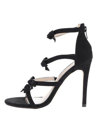 Sandale stiletto negre Miss Selfridge