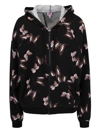 Hanorac negru Juicy Couture cu decupaj la spate