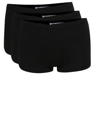 Súprava troch dievčenských nohavičiek v čiernej farbe name it Tights