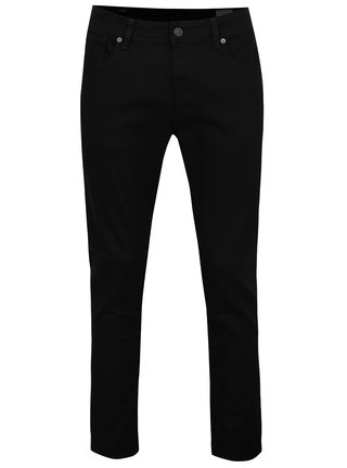 Čierne slim fit rifle Selected Homme Leon