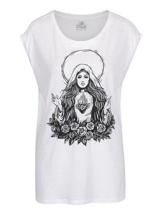 Biele dámske tričko ZOOT Originál Panna Mária