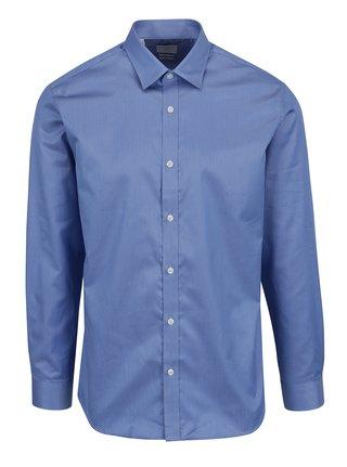 Modrá formálna  slim fit košeľa Selected Homme Done